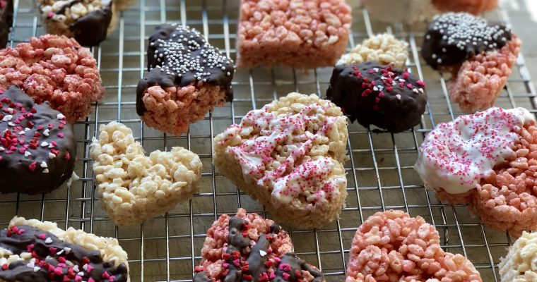Valentine's Rice Krispies