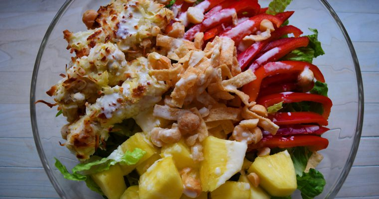 Pina Colada Chicken Salad